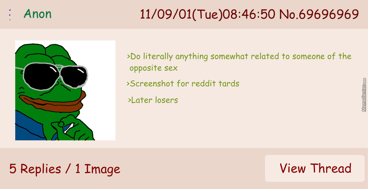 When Anon Is Unorignal
