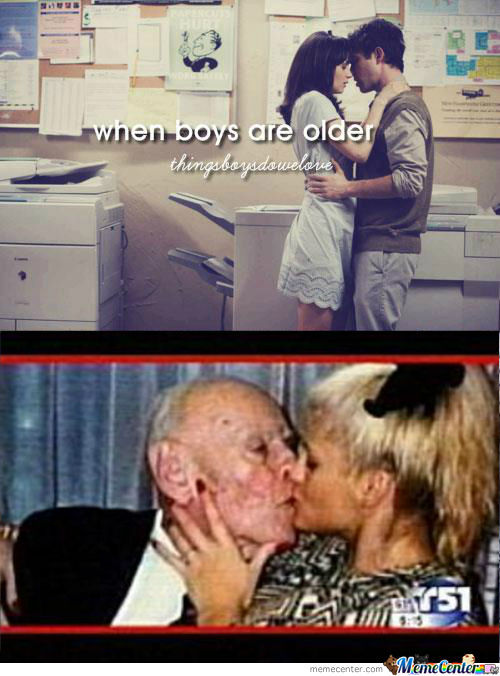 When Boys Are Older