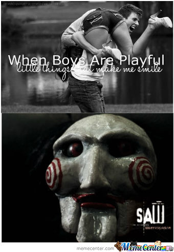When Boys Are Playful