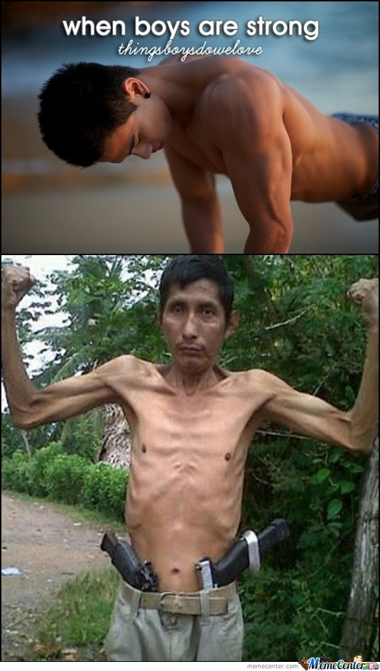 When Boys Are Strong