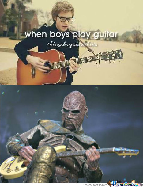 When Boys Can Play Guitar