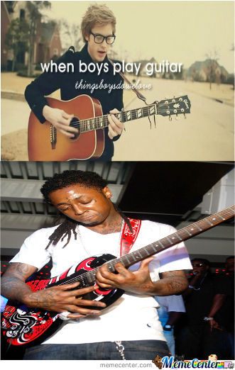 When Boys Play Guitar