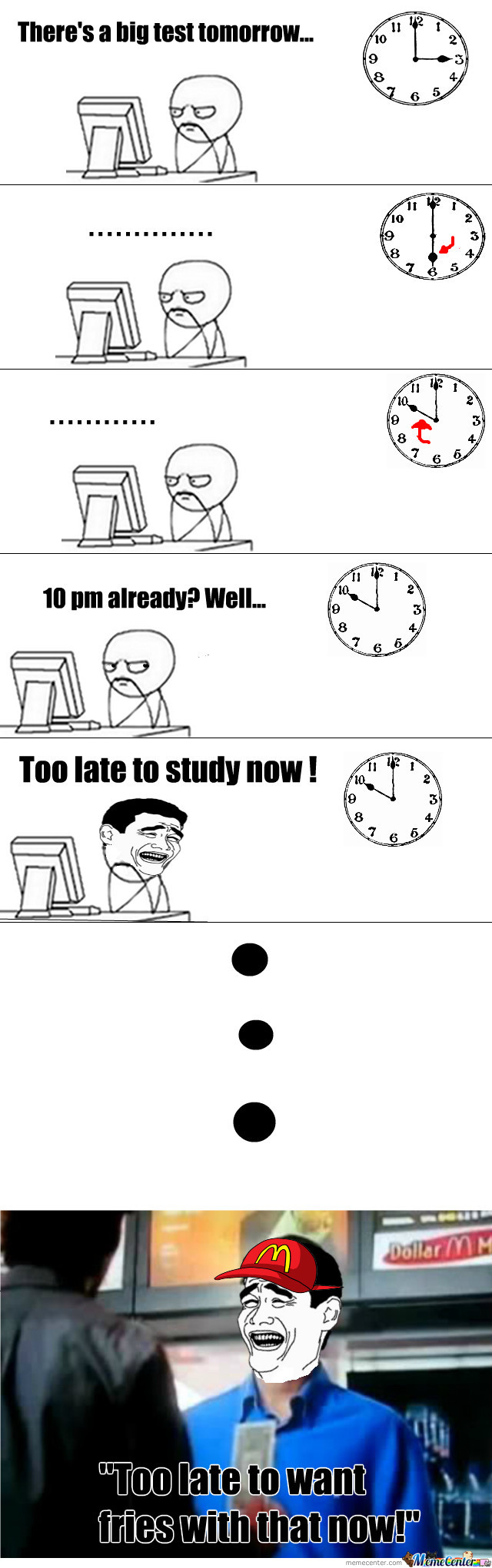When Ever I Try To Study...