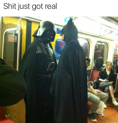 When Good And Evil Takes The Train To Meet Up For The Final Battle