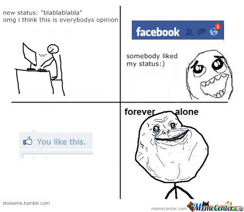 When I Am On Facebook.