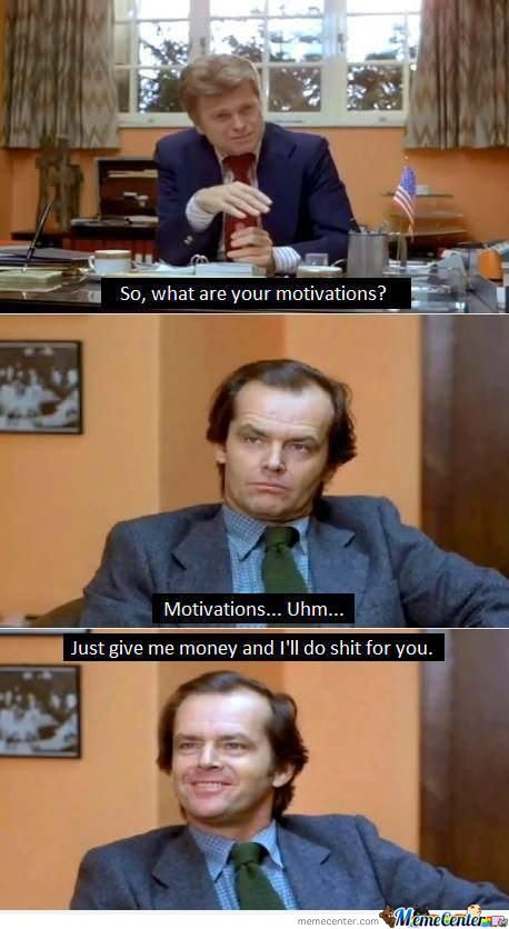 When I Apply For A Job.