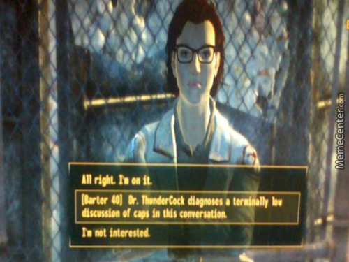 When I Forget What My Fallout Name Is...