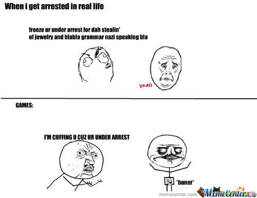 When I Get Arrested