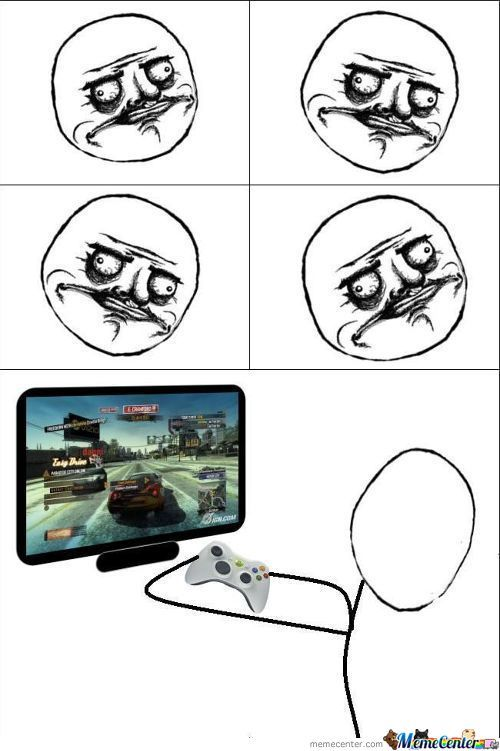 When I Play Racing Games