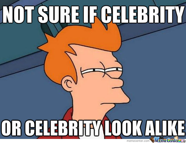 When I See A 'celebrity'
