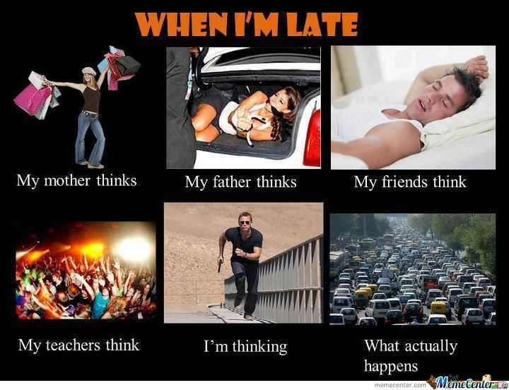 When I'm Late