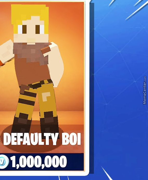 When Minecraft And Fortnite Finally Collab By Kidsavage129
