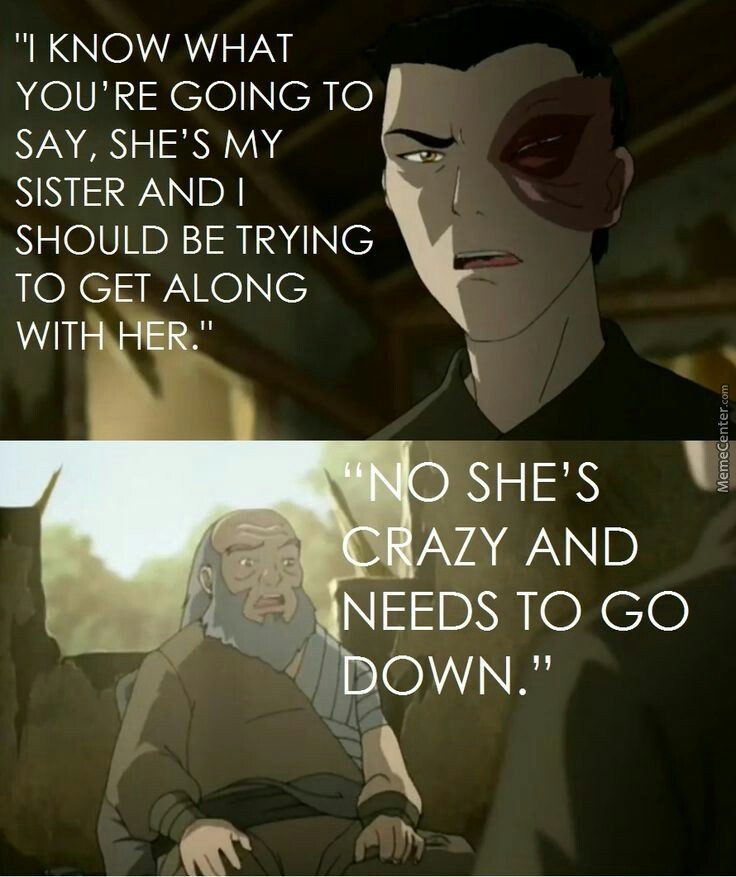 When My Sister Is Acting All Bitchy