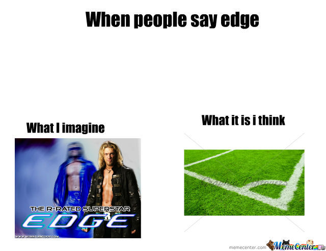When People Say Edge