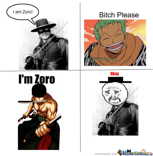 When People Talk About Zoro