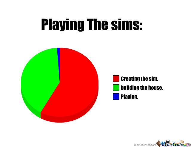 When Playing The Sims