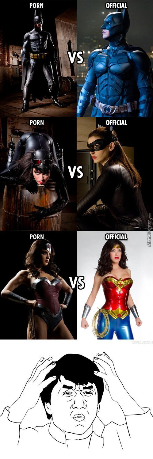 When Porn Movies Make Better Costumes Than The More Legitimate Movie