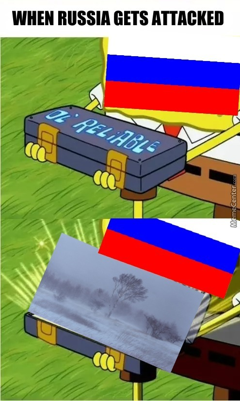 When Russia Gets Attacked