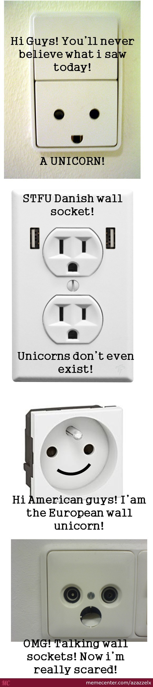 "When Sockets Talk About ""unicorn"".................................."