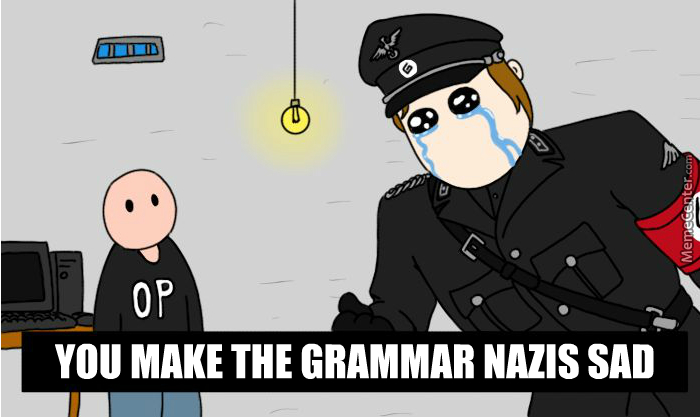 you and someone grammar