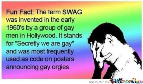 When Someone Say They Have Swag....