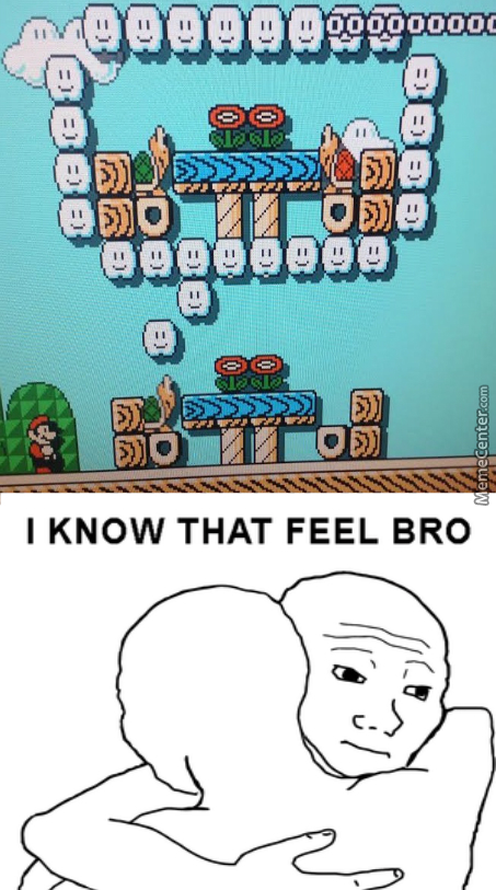 When Super Mario Maker Levels Hit Too Close To Home...