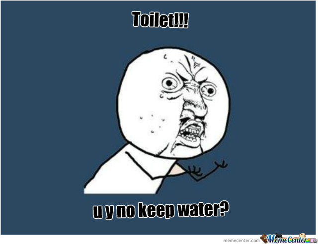 When Taking A Poop...