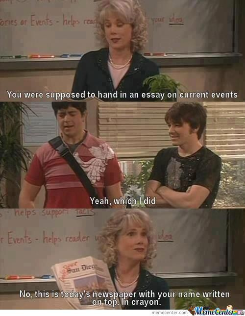 When Teachers Don`t Explain The Assignment Clearly Enough.