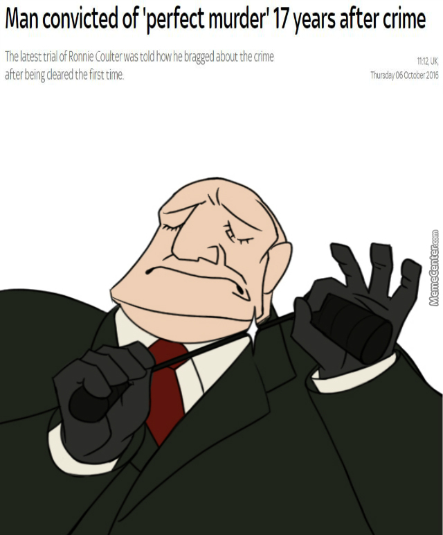 When The Murder Is Just Right