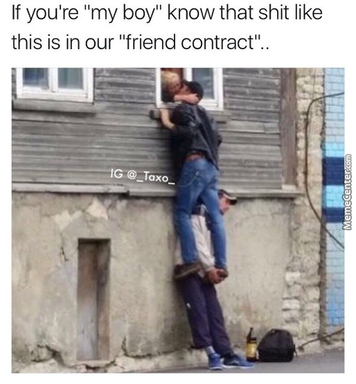 when you amp 039 re the 3rd wheel kind of friend_o_7177709 contract memes best collection of funny contract pictures