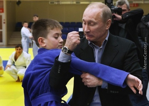 When You're Trying To Steal Out The Cookie Jar But Your Dad Is Putin.