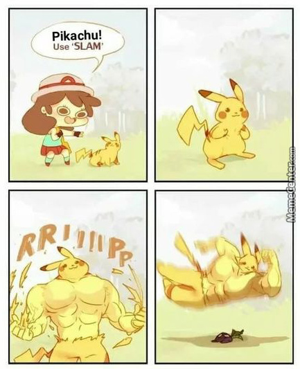 When You Feed Pikachu Nothing But Protein
