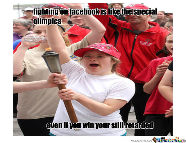 When You Fight On Facebook