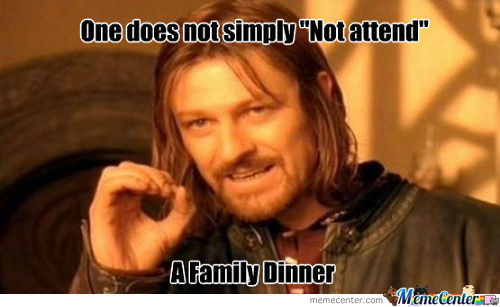 When You Have Ethnic Relatives...
