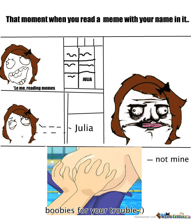 When You Read Your Name