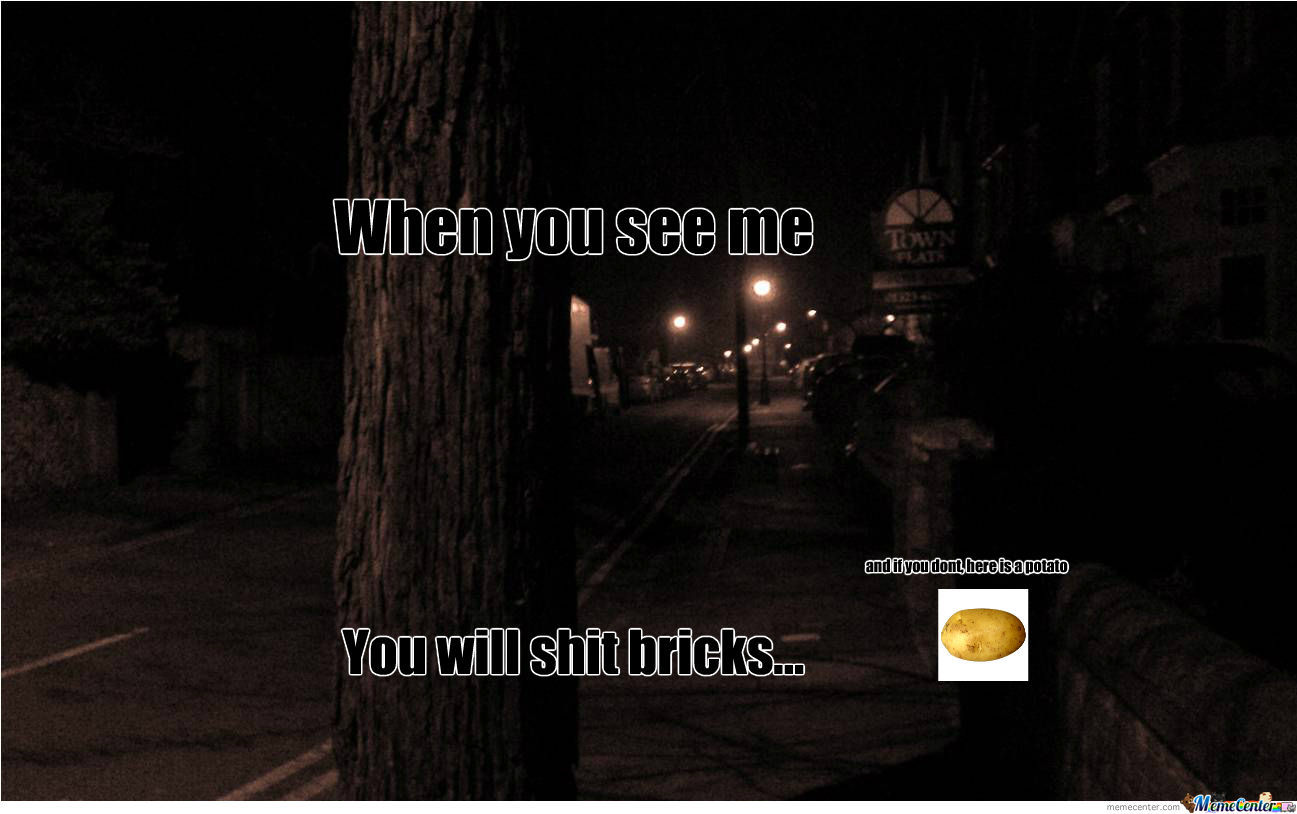 When You See Me, You'll Shit Brix by slender-man- - Meme ...