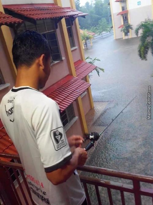 When Your House Floods And Internet Connection Goes Down