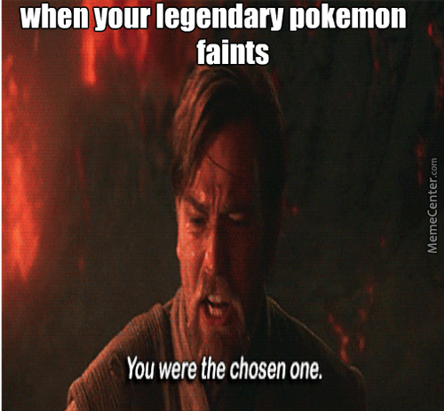 When Your Legendary Pokemon Faints