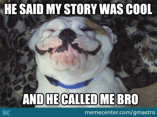 Whena A Cool Guy Likes Your Story