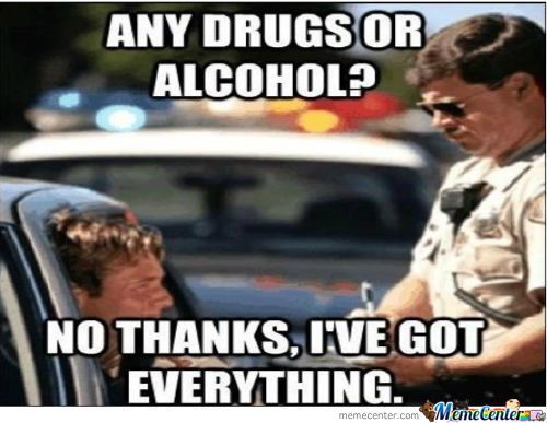 Whenever A Cop Asks You This