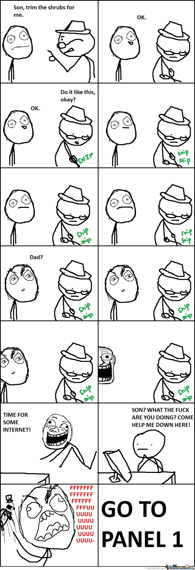 Whenever I Help My Dad...