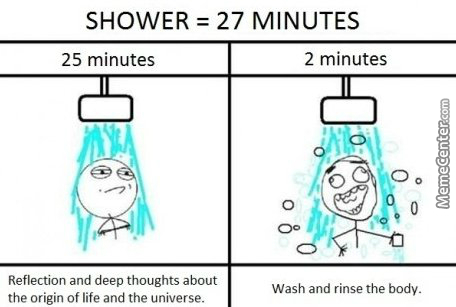 Whenever I Take A Shower... Who Else?