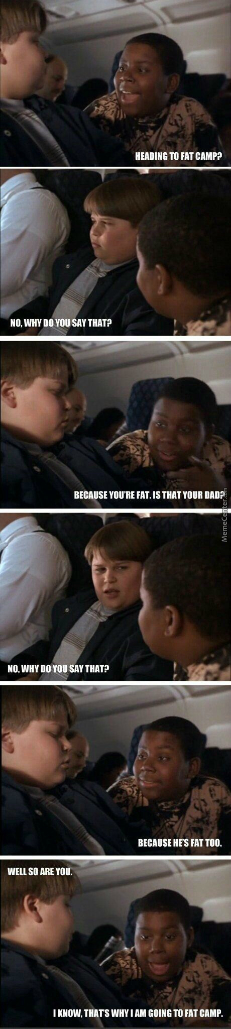 Where's The Black Kids Dad? (Movie: Heavyweights)