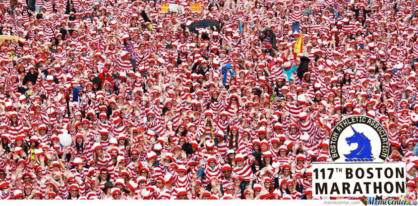 Where's Wally Boston Edition