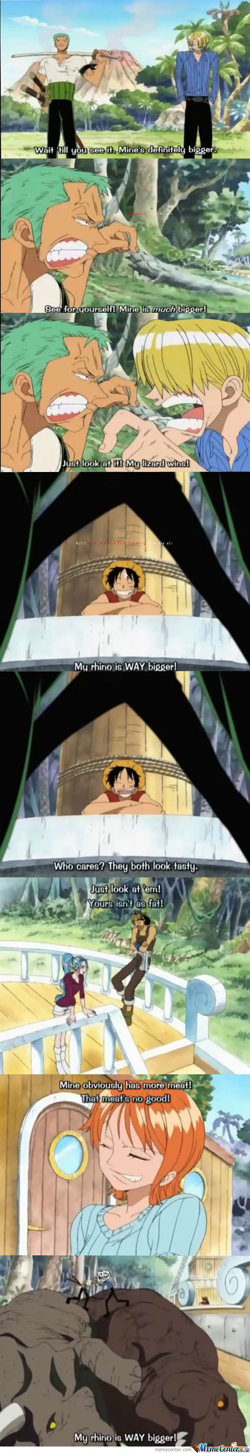 Where Are They Talking About ? One Piece Troll