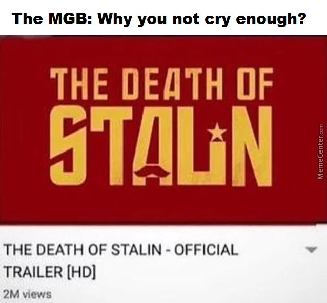 Where Are Your Tears Comrade?