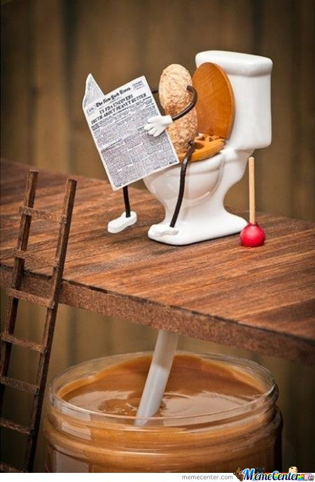 Where peanut butter came from