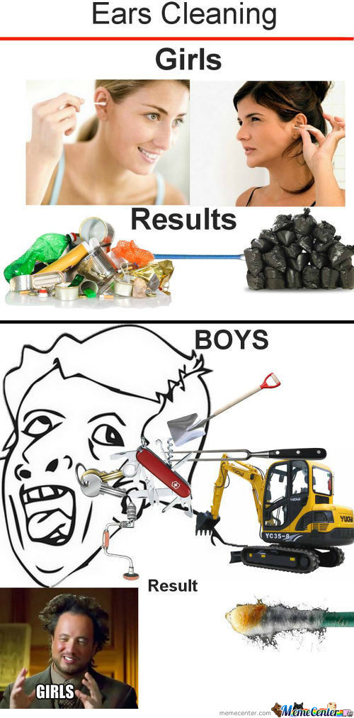 Which Is The Dirtiest !!!!!!!!! (Sorry Girls, It's A Fact!)