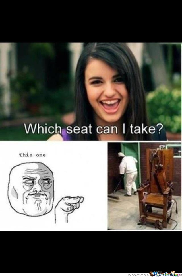 Which Seat Can I Take? By JackRanga
