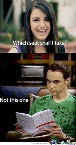 Which Seat Shall I Talk.... No!